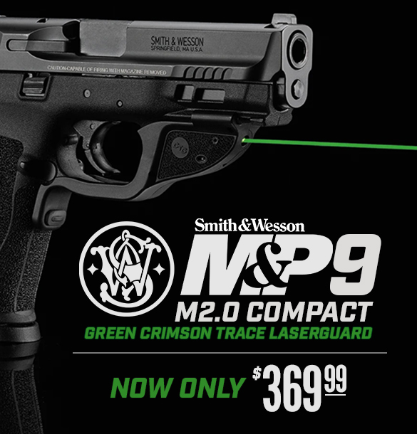 Smith MP9 M2.0 Compact with Green Laser