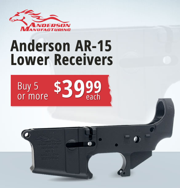 Anderson AR-15 Lower Receivers for Sale