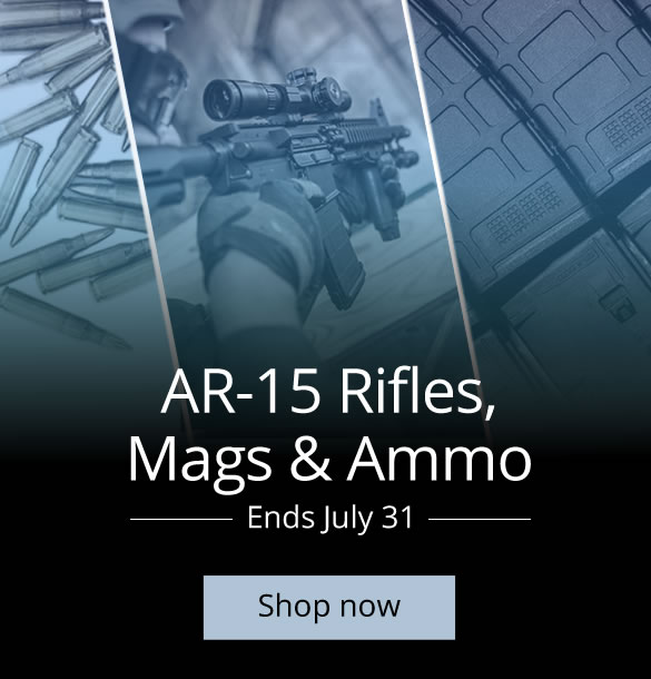 AR-15 Rifle Sale with Ammo and Mags