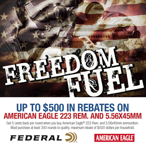 Federal Freedom Fuel Rebate