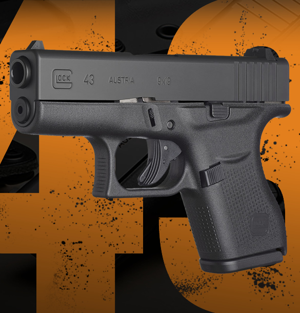 Glock 43 Pistol for Sale