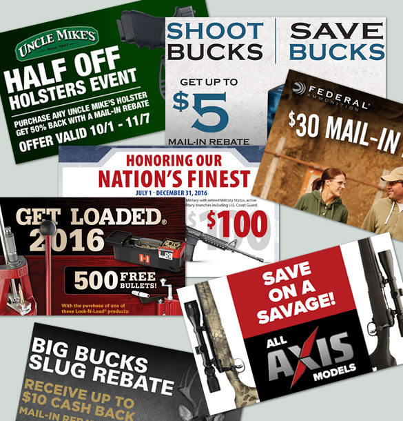 Gun Rebates and More