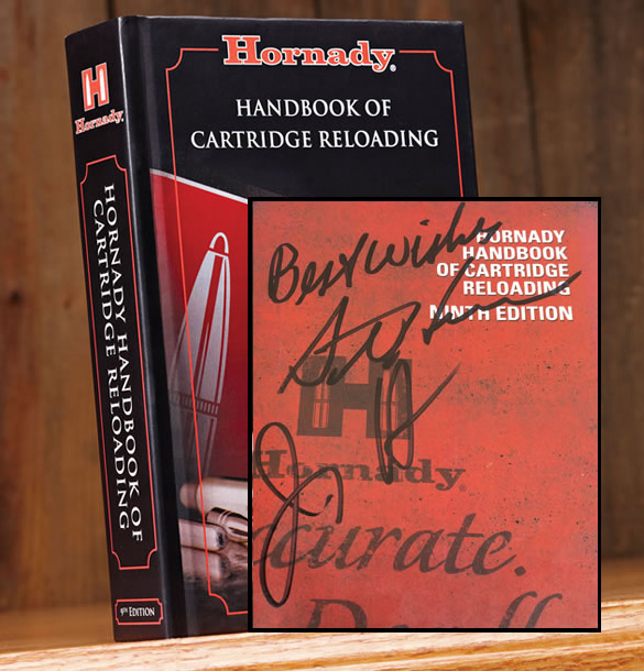 Hornady Reloading Handbook Autographed