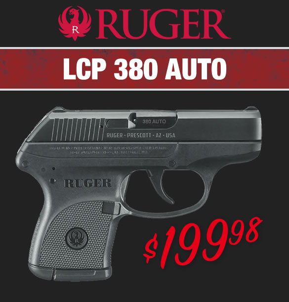 Ruger LCP Carry Conceal Pistol