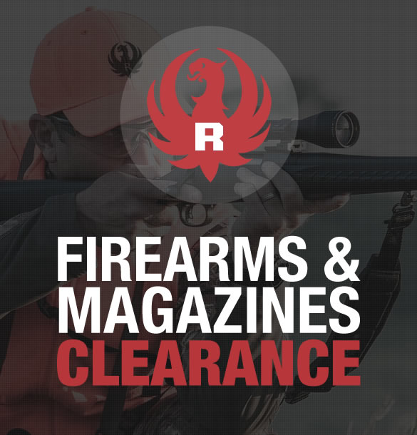 Ruger Firearms and Magazines Clearance