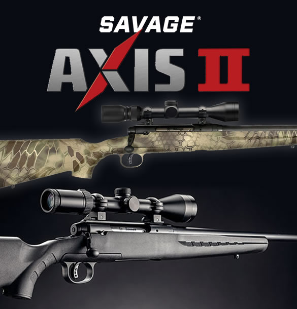 Savage Axis II Bolt-Action Rifles