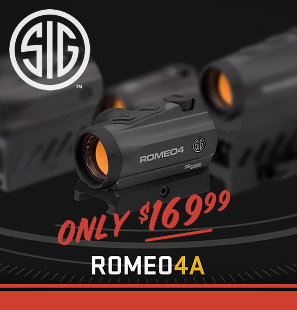 Sig Sauer Romeo4 Red Dot for Sale