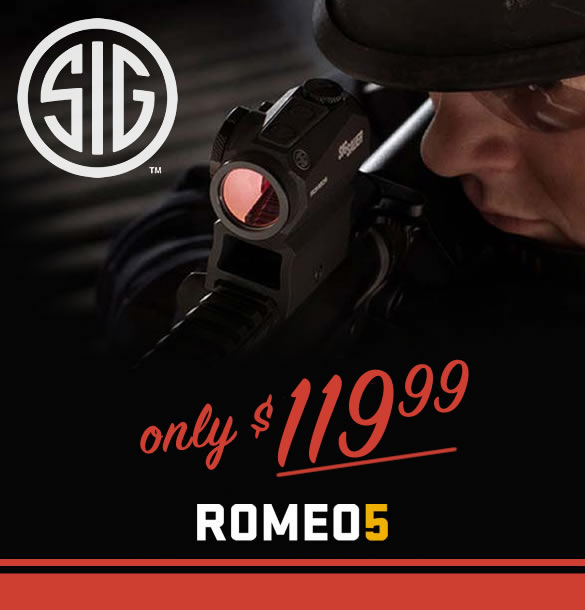 Sig Sauer Romeo5 Red Dot for Sale