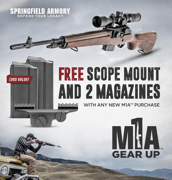 Springfield M1A Gear Up Package
