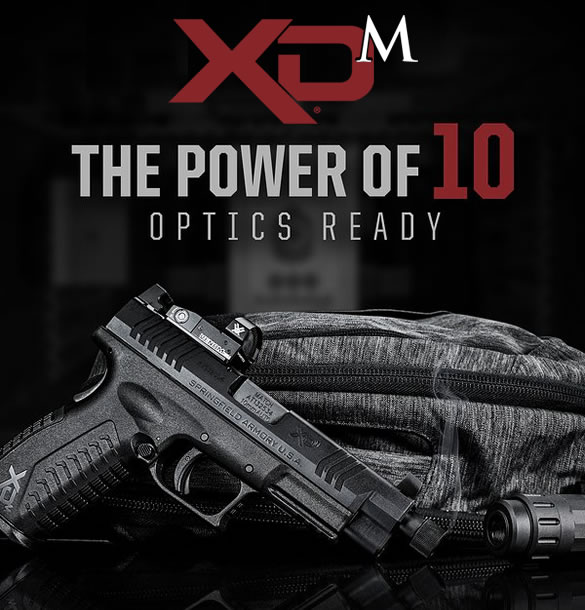 springfield xdm 10mm ammo superstore sportsman outdoor osp dot vortex sellers tactical combo federal
