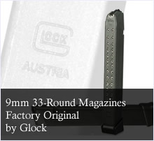 Glock 9mm 33 Round Factory Magazine