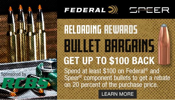 Reloading Rewards Bullet Bargains