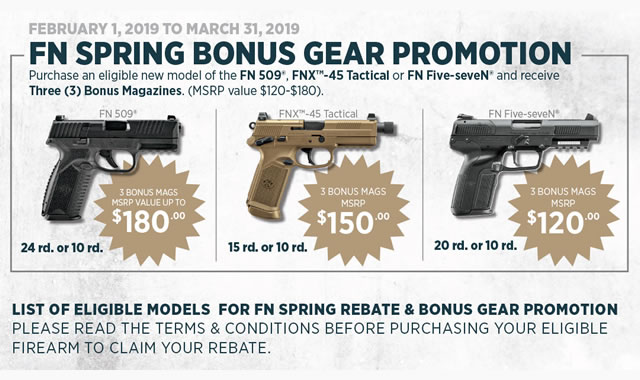 Spring Bonus Gear Promotion