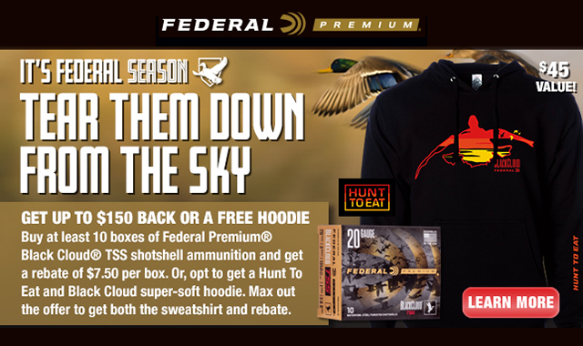 Its Federal Season Waterfowl