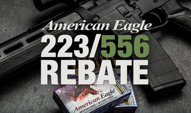American Eagle Rifle Ammo Rebate