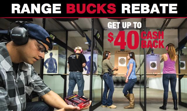 Range Bucks Rebate