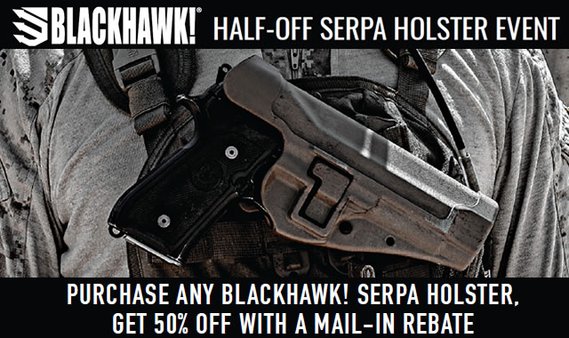 Half Off Serpa Holster Event
