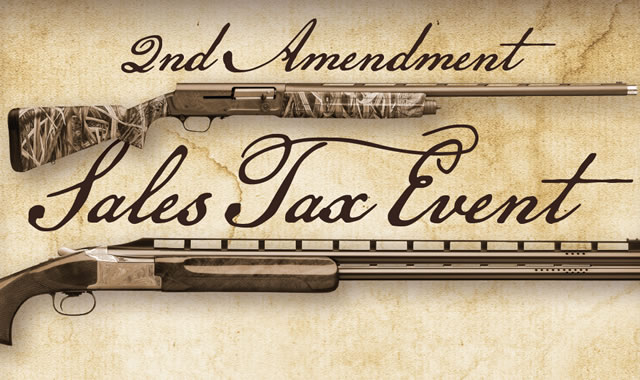 2nd Amendment Sales Tax Event