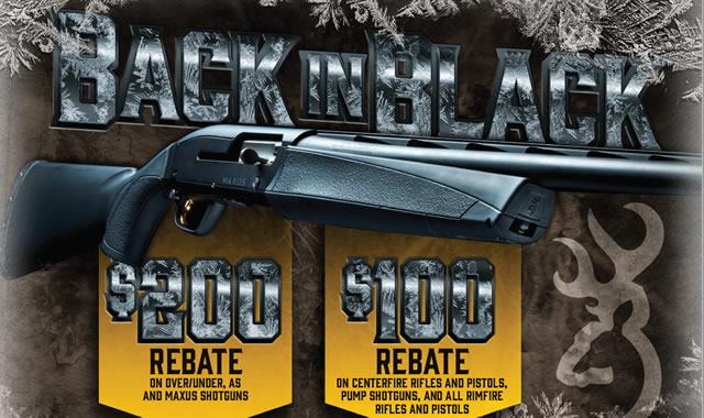 Back in Black Rebates
