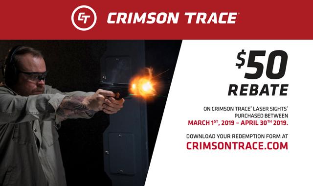 Mail In Rebate Offers >> Crimson Trace Rebate Mail In Rebate Offer Sportsman S