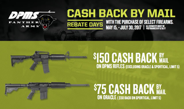 Rifle Rebate Days