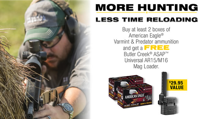 More Hunting Less Time Reloading Rebate