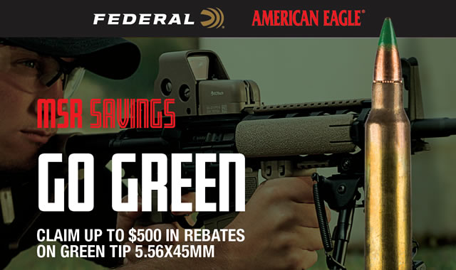 Go Green MSR Savings Rebate