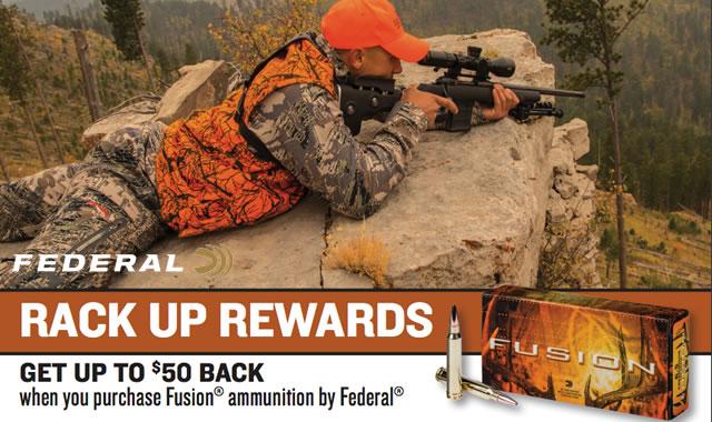 Federal Rebate Rack Up Rewards