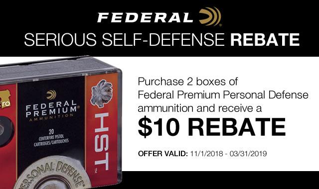 Serious Self Defense Rebate