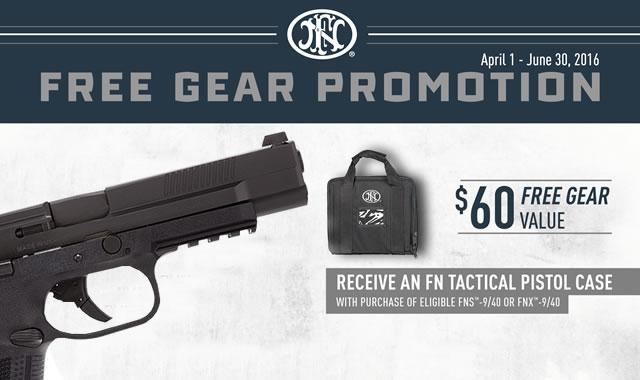 Free Gear Promotion