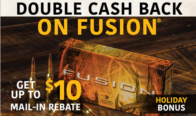 Federal Rebate Double Cash Back On Fusion
