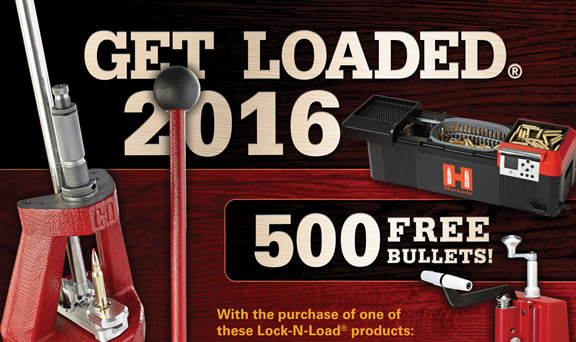 Get Loaded 2016 500 Free Bullets