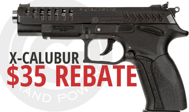 X Calibur Rebate