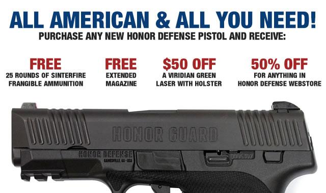 Image result for honor defense rebate