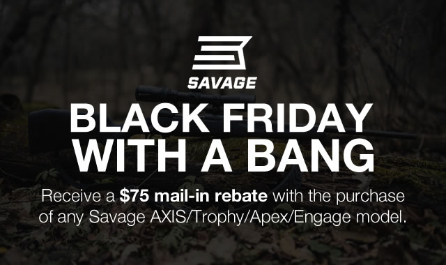 Black Friday with a Bang