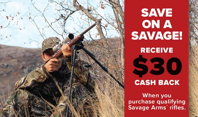 Rebate: Save on a Savage