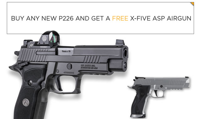 Sig Sauer Promotion: 2 for 1 Fathers Day Special | Vance Outdoors