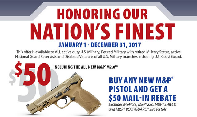 Nations Finest Pistol Rebate