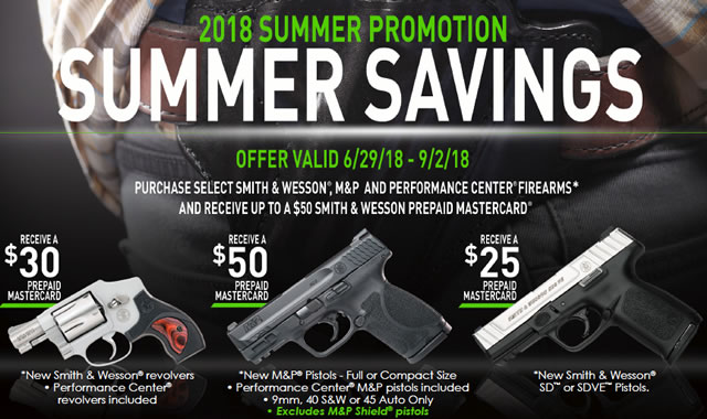2018 Summer Savings