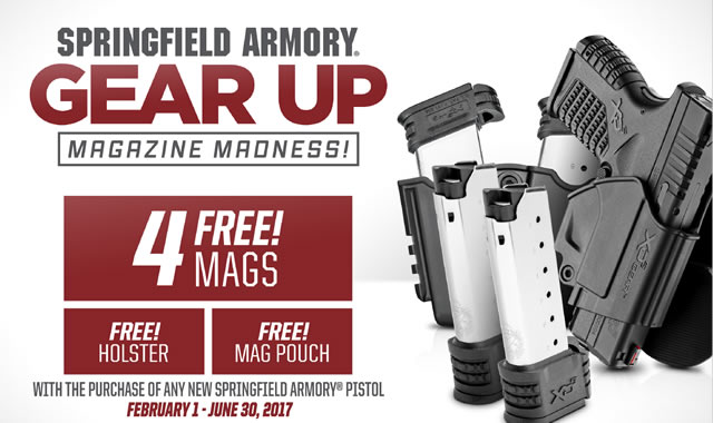Springfield Promotion: Gear Up Magazine Madness