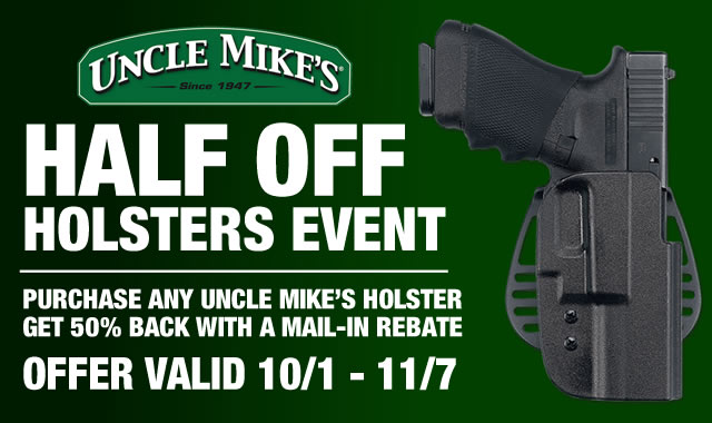 Half Off Holsters Event