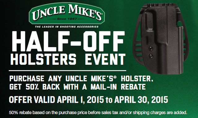 Half-Off Holsters Event