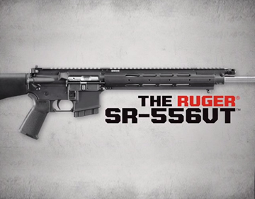 Ruger SR-556VT Piston Rifle