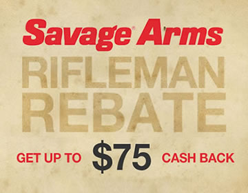Savage Arms Rifleman Rebate