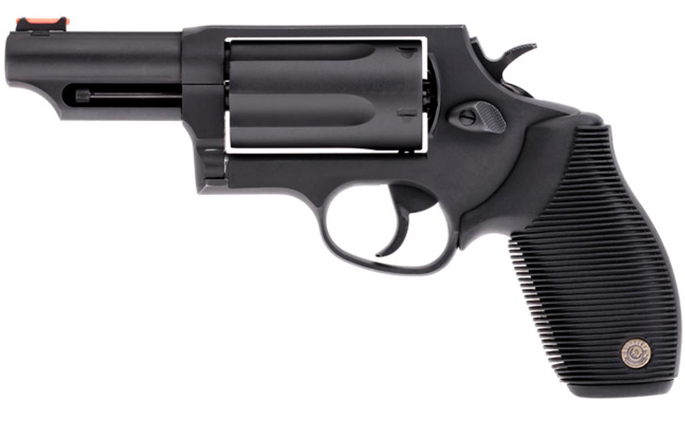 TAURUS Judge 410GA/45LC Black Revolver with 3-inch Barrel