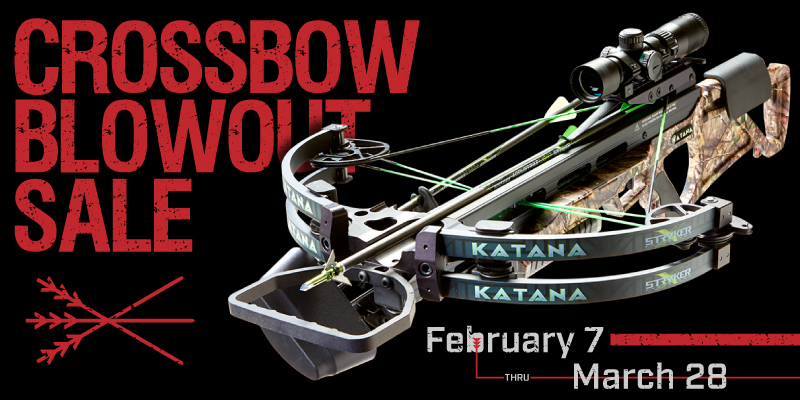 Special: Crossbow Blowout Sale