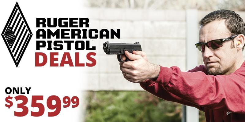 Ruger American Pistol Deals