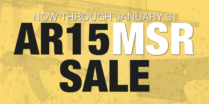 Special: AR15/MSR Sale