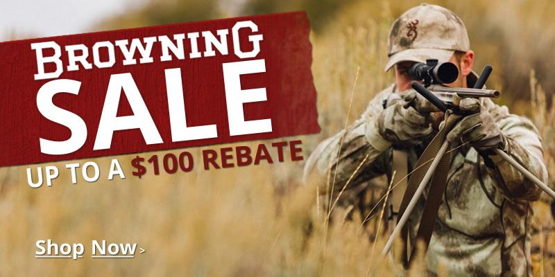 Browning Bucks Rebate Sale
