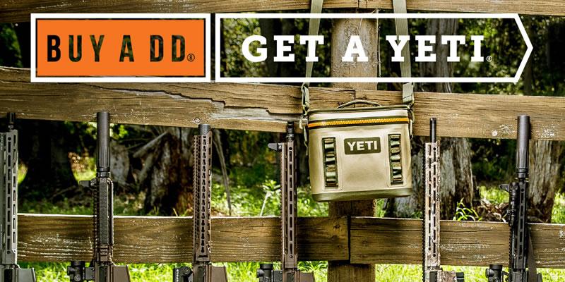 Buy a DD get a Yeti